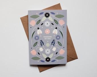 Thinking of You Card - Sympathy Card