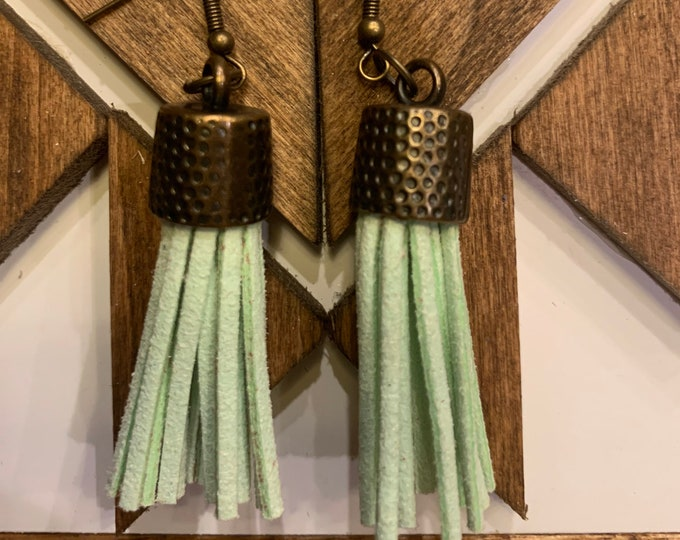 Tassel Earrings-Multiple Color Choices