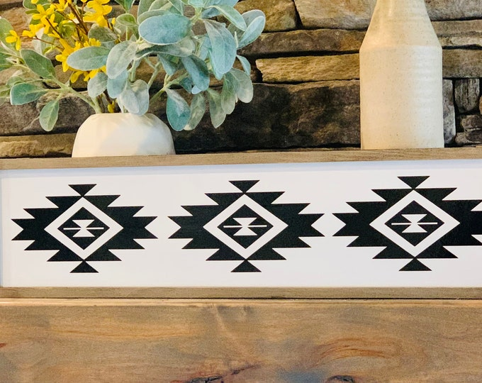 Aztec Home Decor Sign