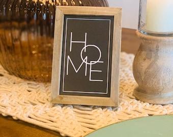 Mini Home Sign