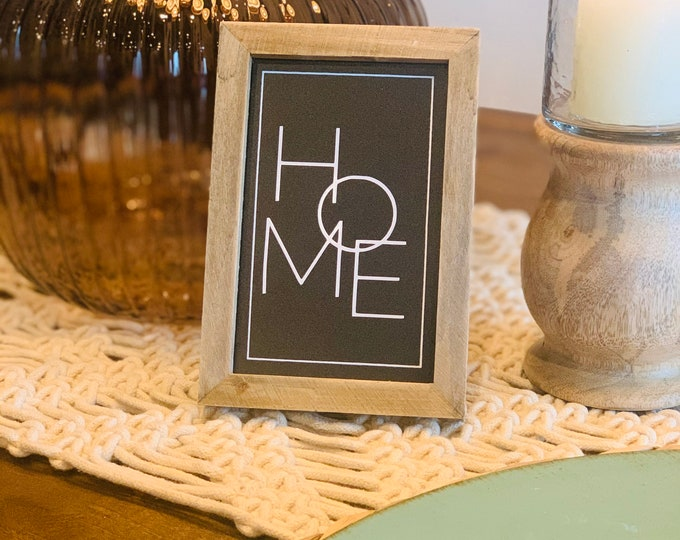 Mini Home Sign