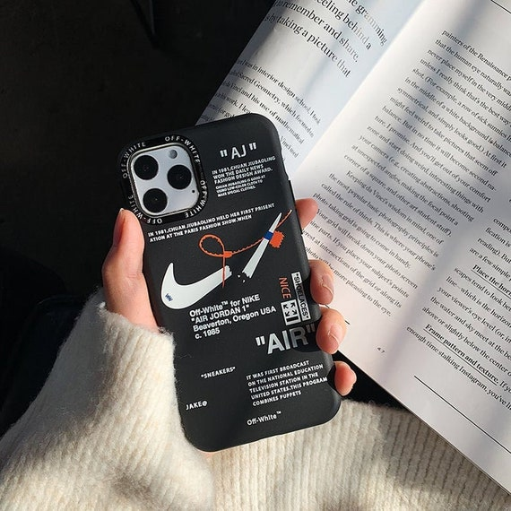 Hypebeast Nike 0ff-White 3D iPhone Silicone Case For iphone XS Max/XR/7/8plus/11/11PROMAX/12PROMAX, Unique design,iPhone Protective Cover