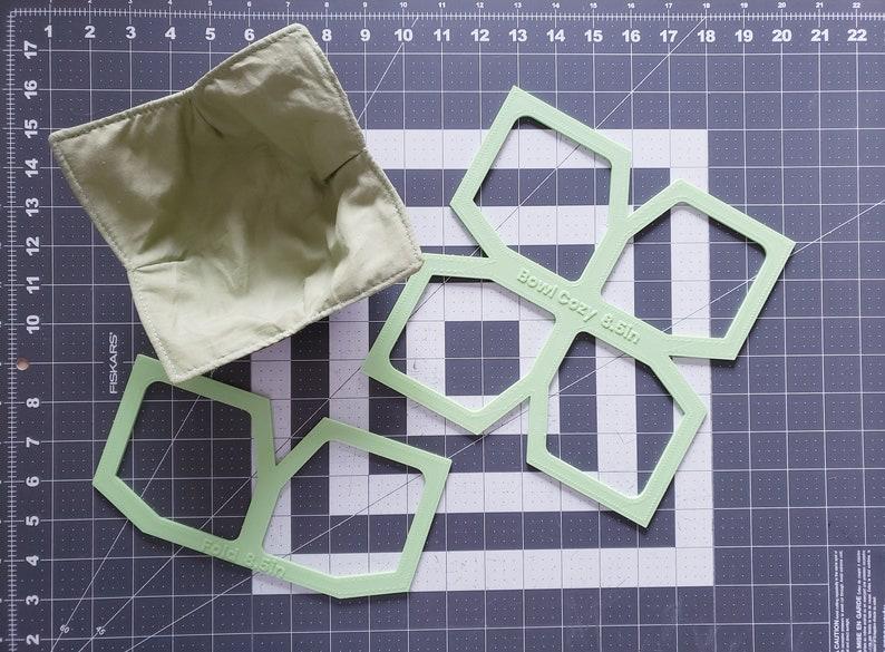 8.5 Microwave Bowl Cozy Cozie Pattern / Bowl Wrap / image 0
