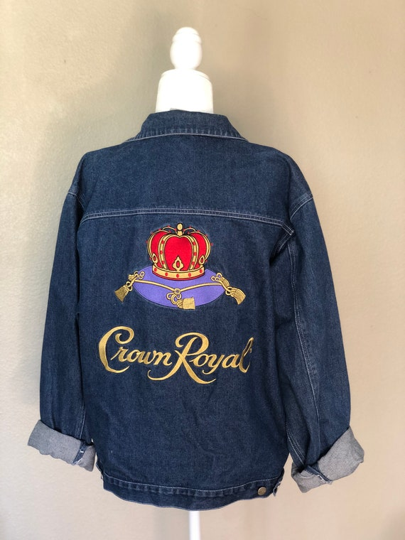 Embroidered Crown Royal Jacket