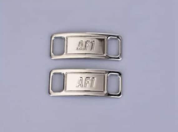 Gloss Silver AF1 LACE LOCKS Metal Custom AF1 Tags Lock Air   Etsy