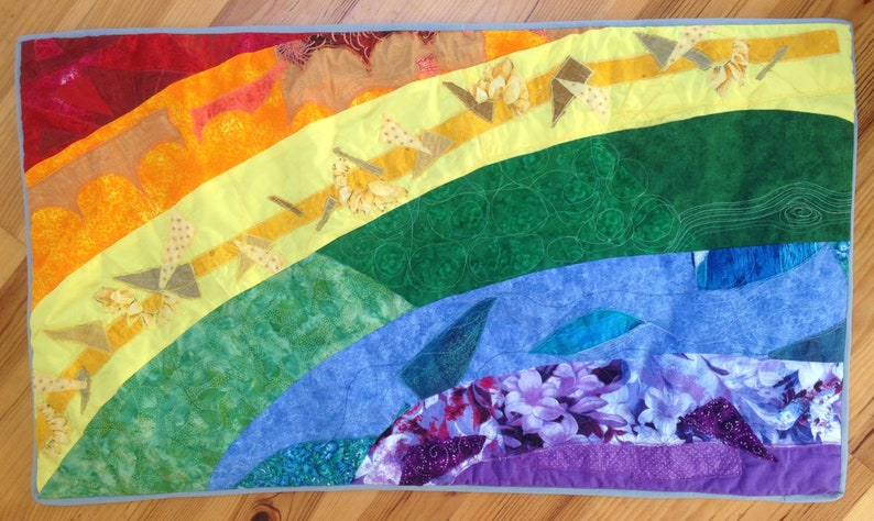 Rainbow Wall HangingSmall Quilt