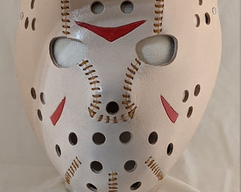Friday the 13th Jason Voorhees Leather Mask
