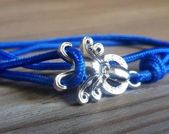 ocean bracelet - octopussy - ocean protection - nautical rope