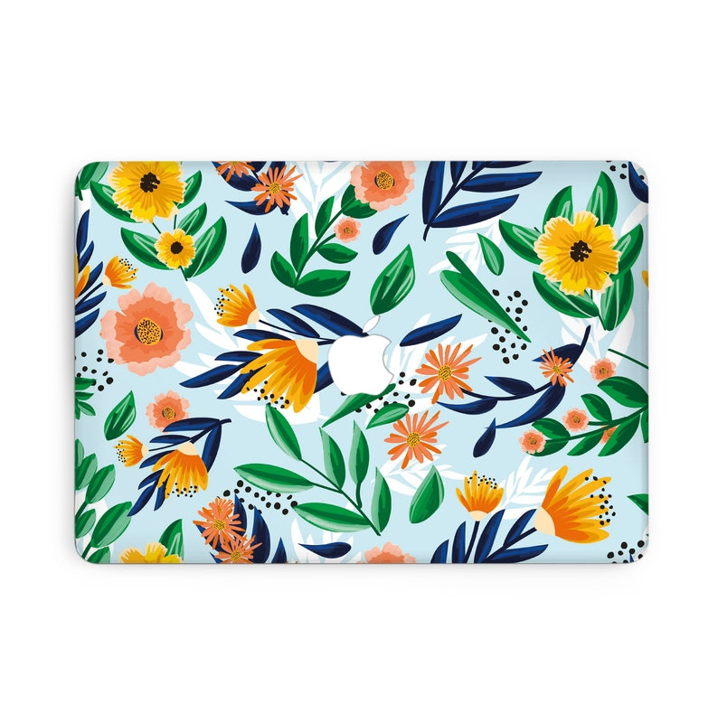 Flowers Macbook Pro 16 Case A2141 Watercolor Macbook Air 13 Inch Case 2017 Colorful Macbook Pro 13 Cover Macbook Pro 15 Inch Case AXD0169