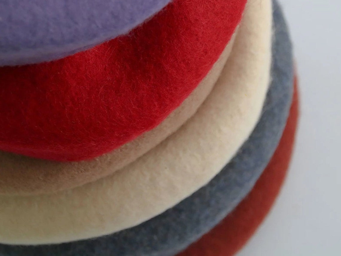 100% Luxury wool French Beret image 0