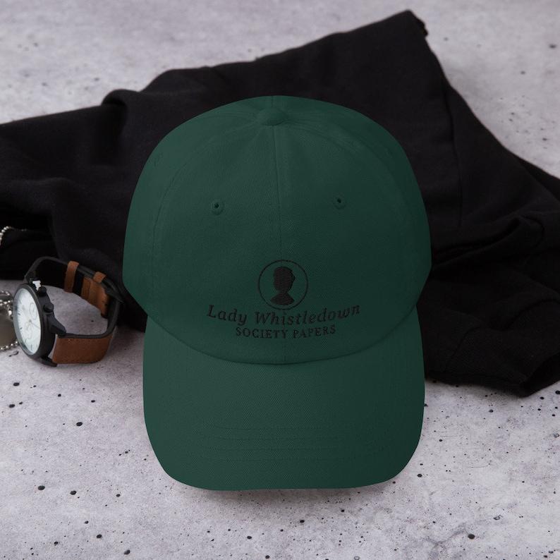 Lady Whistledown Society Papers Bridgerton Hat