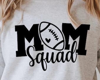 Mom squad Svg, football mama svg, football mom, football mom shirt svg, Cut File For Cricut and Silhouette