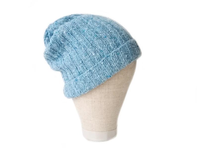 Wool hat men Handknit hat Fisherman beanie
