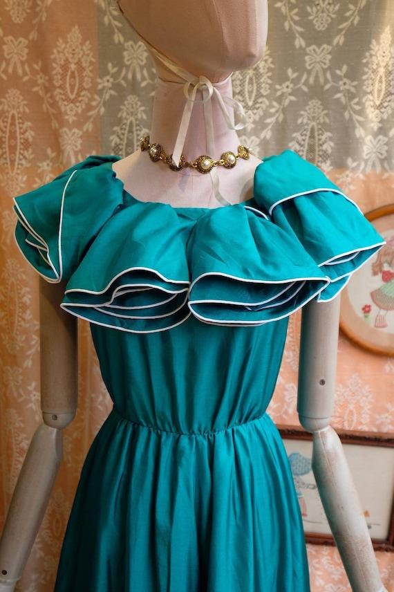 Maxi Dress Vintage Princess Dress - image 7