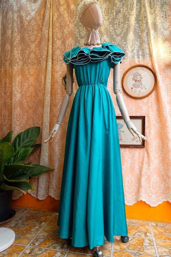 Maxi Dress Vintage Princess Dress - image 6