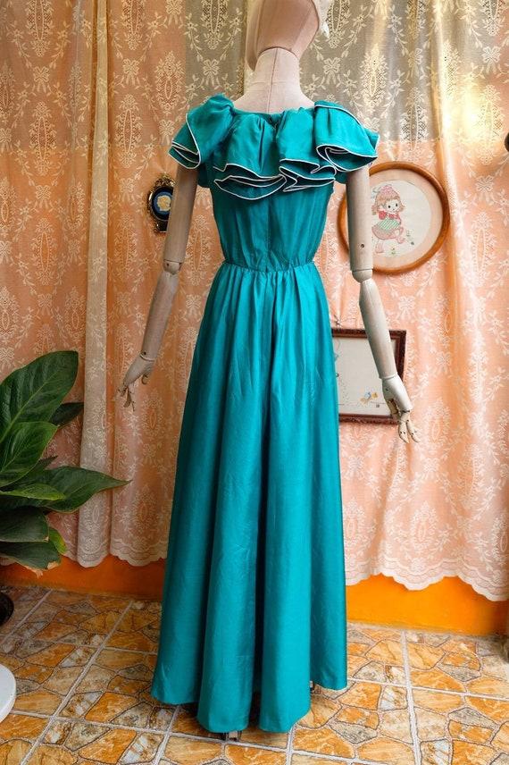 Maxi Dress Vintage Princess Dress - image 4