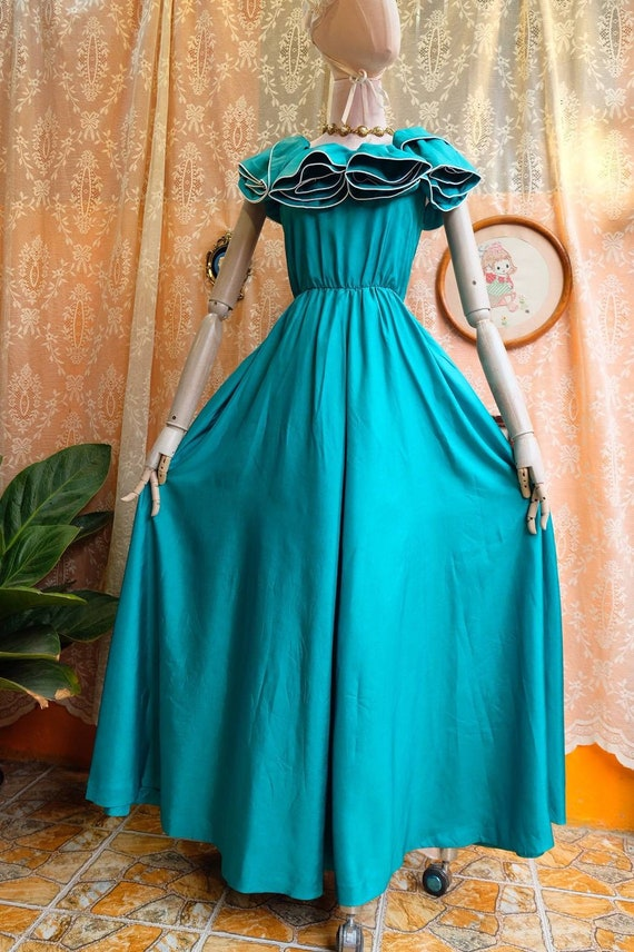 Maxi Dress Vintage Princess Dress - image 2