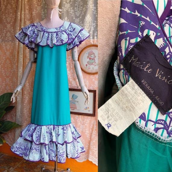 Hawaiian Vintage 60's Dresses