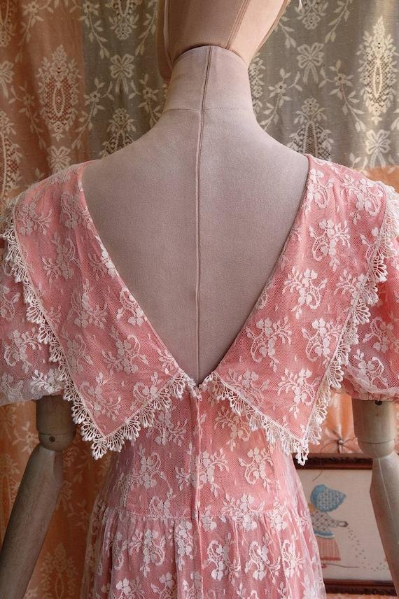 GUNNE SAX dress Vintage Lace vintage 1970s 1980s … - image 4