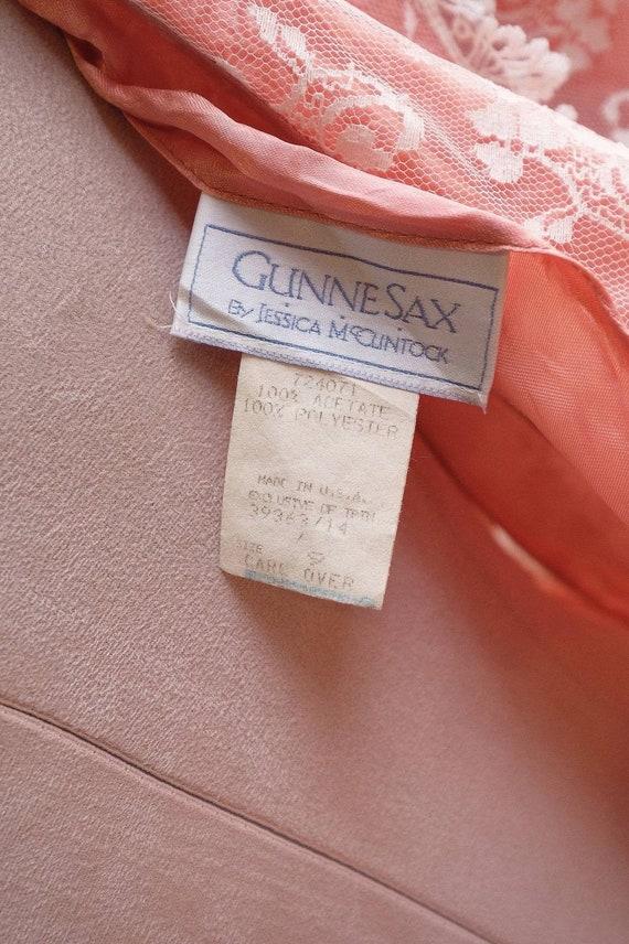 GUNNE SAX dress Vintage Lace vintage 1970s 1980s … - image 7