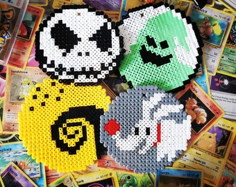 Nightmare Before Christmas Hama Bead Christmas Halloween Hanging Decoration (Available together or individually)