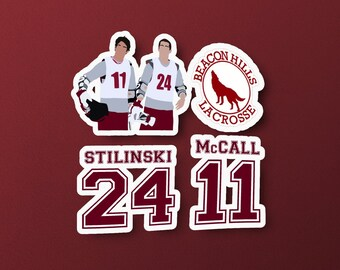 Scott Mccall 11 Teen Wolf Beacon Hills Geïnspireerd Lacrosse