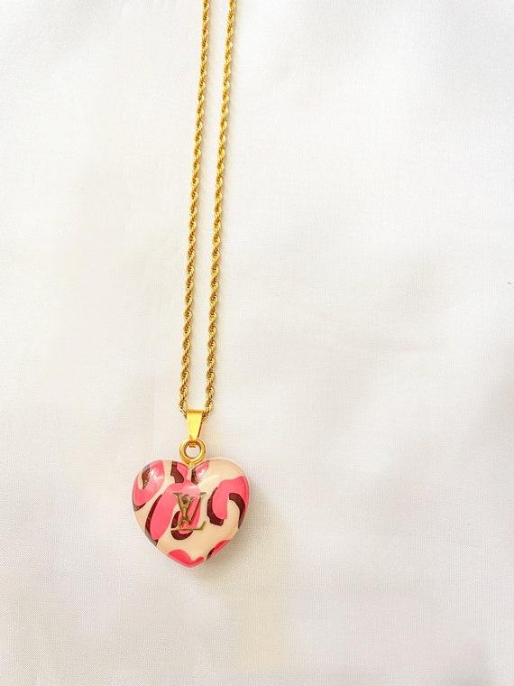 Louis Vuitton Pink Necklace