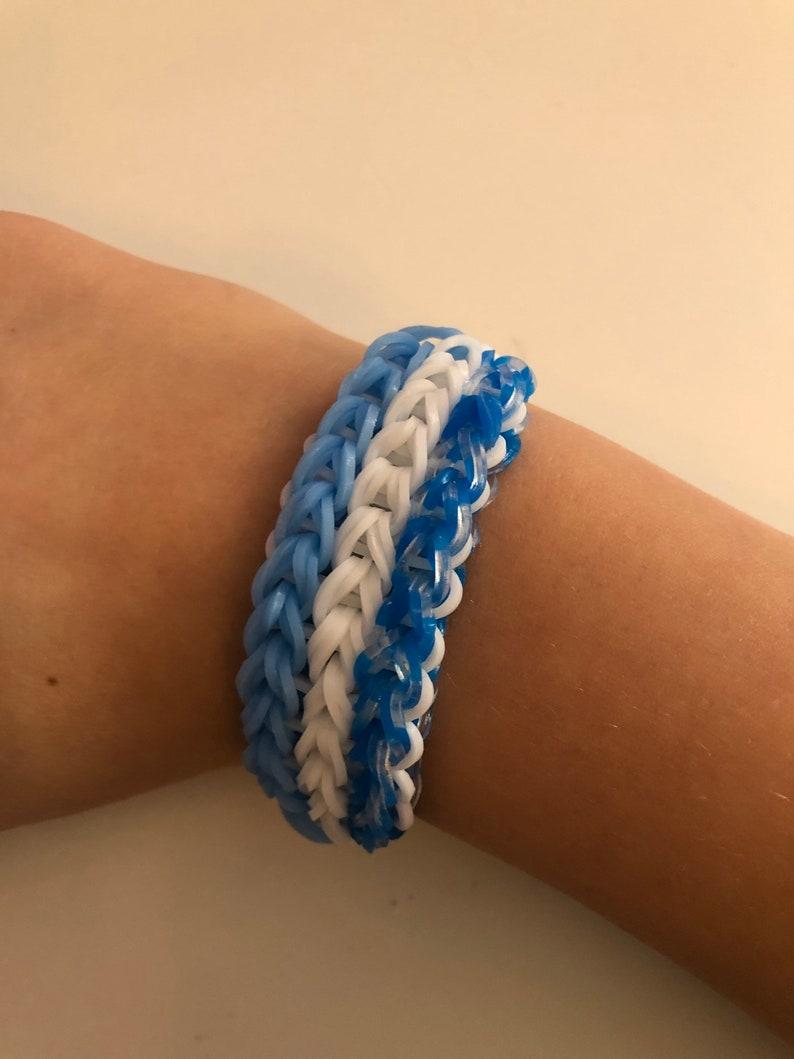 Winter themed bracelet