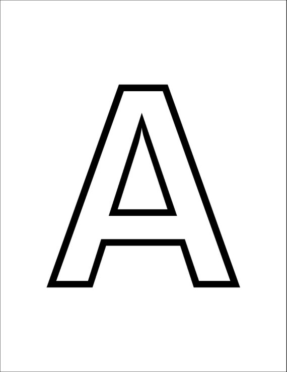 ABC Uppercase Letters PDF 27 Pages With Each Letter and One