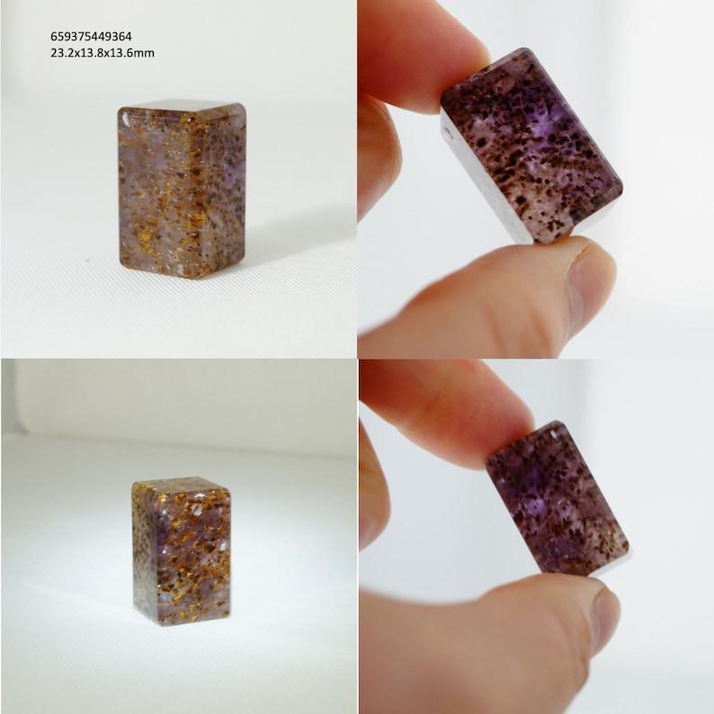 Birthstone Auralite 23 Crystal Pendant Healing Stone Jewelry Northern Light Chakra Meditation, Aurora Crystal Quartz Black Auralite