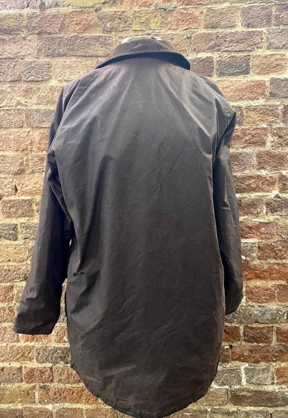 Vintage Burberry Men's Wax Jacket, Large - image 10
