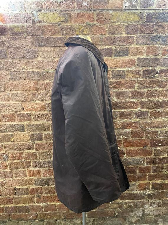 Vintage Burberry Men's Wax Jacket, Large - image 6