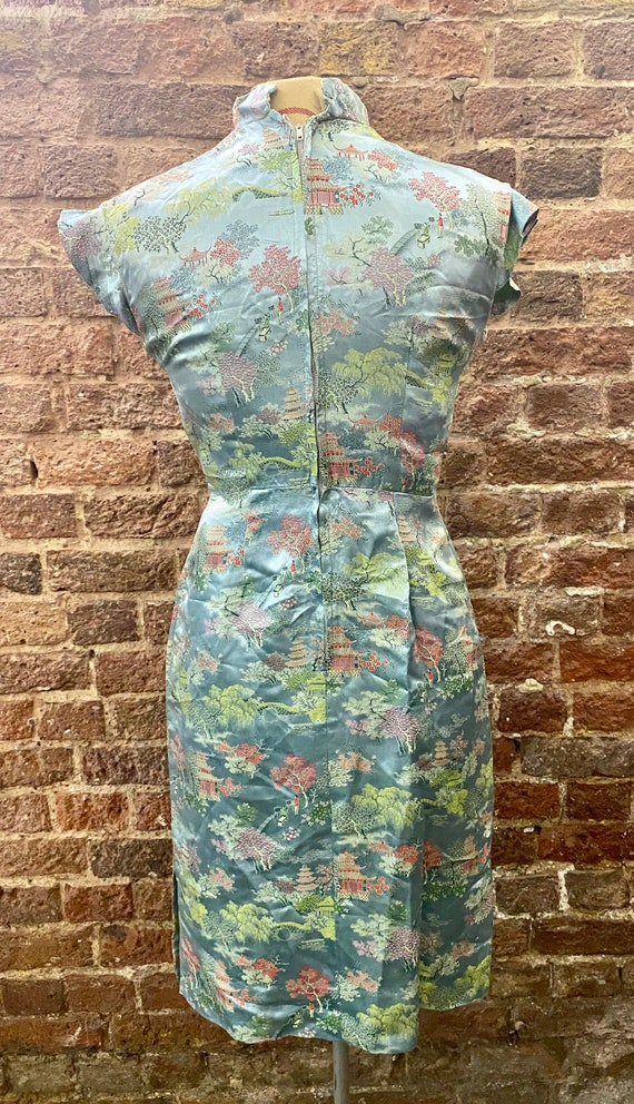 Vintage Oriental Cocktail Dress - image 10