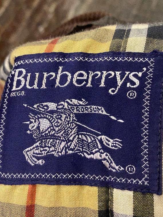 Vintage Burberry Men's Wax Jacket, Large - image 3