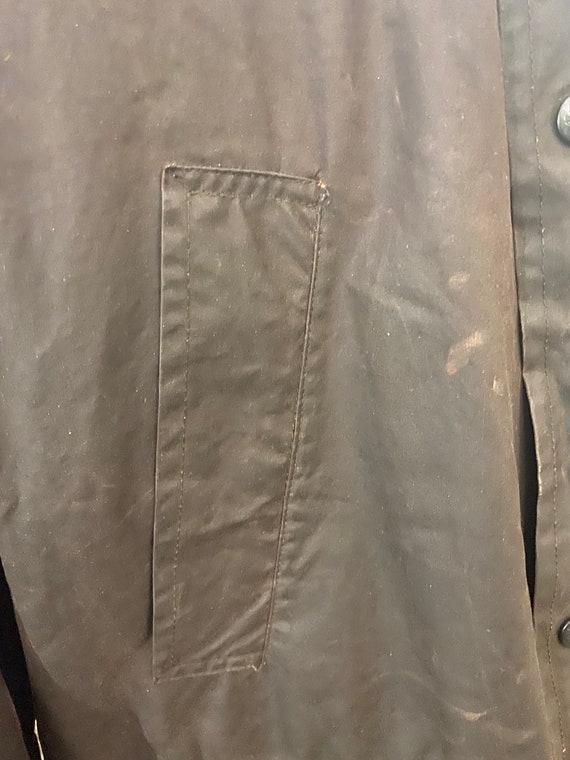 Vintage Burberry Men's Wax Jacket, Large - image 5
