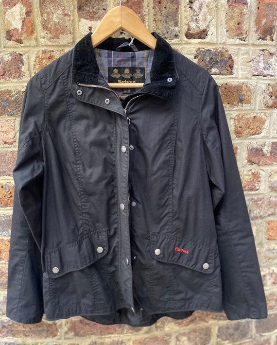 Vintage Women's Barbour Waxed Ferndown Jacket UK s
