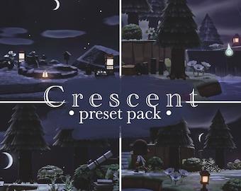 Crescent preset pack | Animal Crossing presets | ACNH Preset | Lightroom mobile presets | Instagram filters