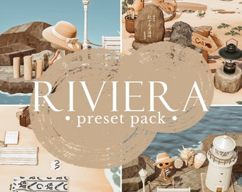 Riviera preset pack   Animal Crossing presets   ACNH Preset   Lightroom mobile presets   Instagram filters