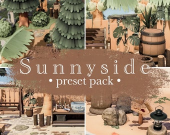 Sunnyside preset pack | Animal Crossing presets | ACNH Preset | Lightroom mobile presets | Instagram filters