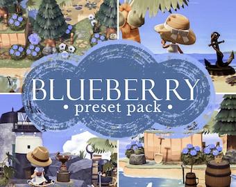 Blueberry preset pack   Animal Crossing presets   ACNH Preset   Lightroom mobile presets   Instagram filters