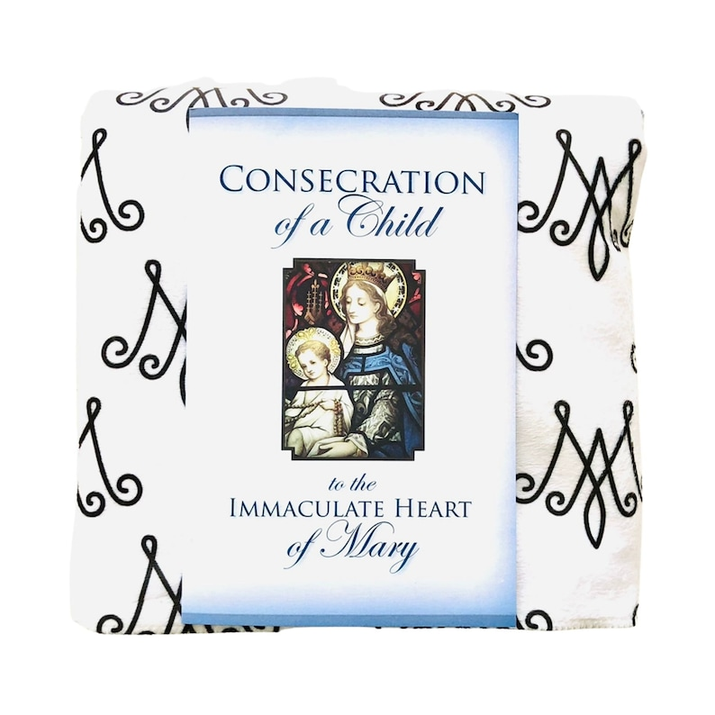 Consecration of a Child to Mary Booklet and Auspice Maria image 0