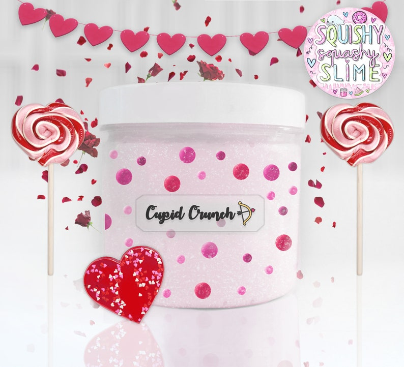 Cupid Crunch  High Quality UK Scented Slime image 0