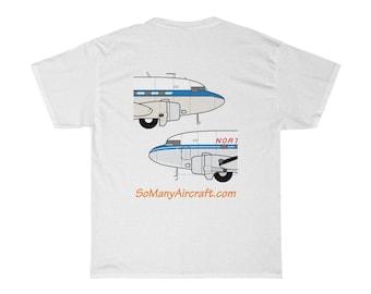 DC-3 T-shirt w/ So Many Aircraft logo