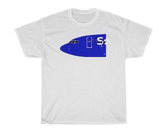 """Boeing 737 """"Heart"""" T-shirt"""