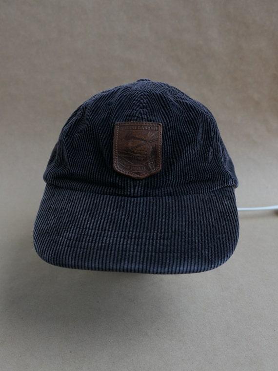 Rare 1990s Polo Ralph Lauren Corduroy Cap / Vintag