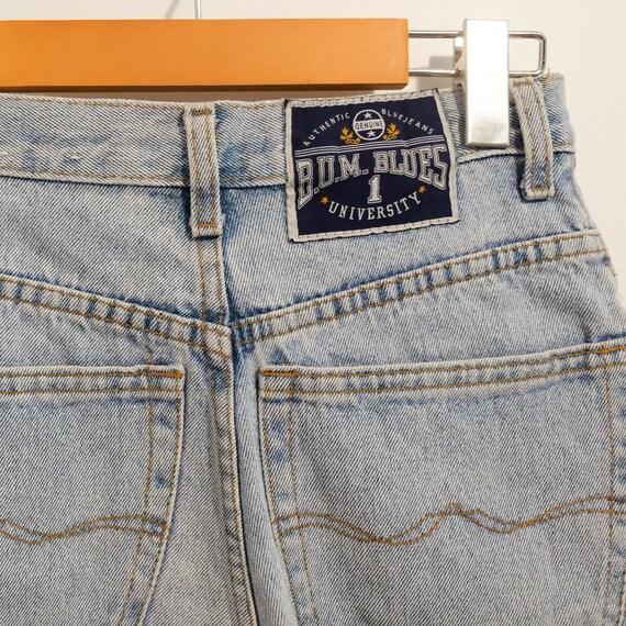 Petite Denim Vintage High-Waisted Mom Shorts Jean