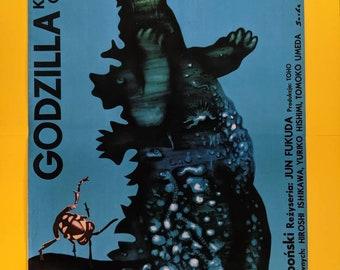 Godzilla versus Gigan Polish poster