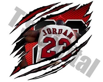 Michael Jordan Ripped PNG, JPG
