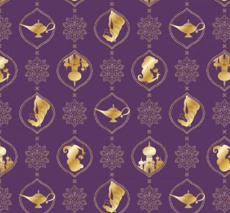 Aladdin Inspired Disney Scrunchie with Bunny-Ears Thin Bow Scrunchies Aladdin Gifts Disney Gifts Thin Purple Aladdin Bow Scrunchie