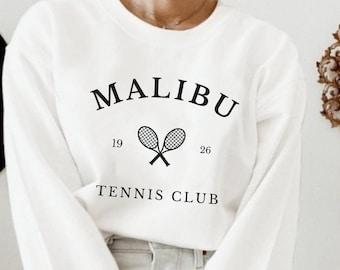 Hamptons Tennis Club Sweatshirt, New York East Hampton Crewneck, College Sweatshirt, Vintage Crewneck, 90s Sweatshirt, East Coast, Trending